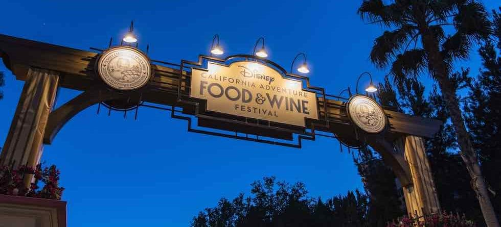 Disney California Adventure Food & Wine Festival returns this March