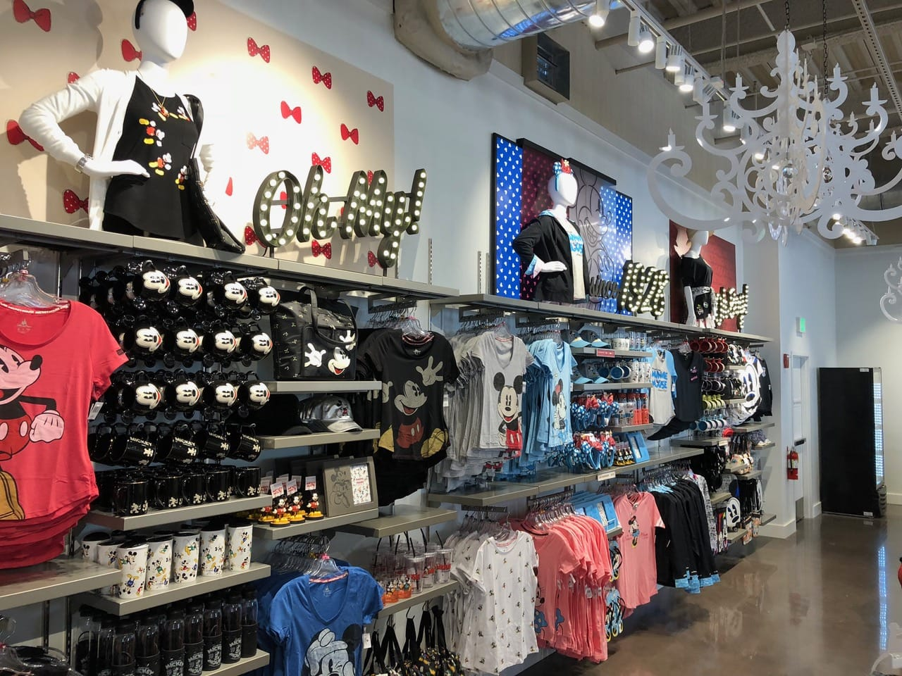The disney corner store opens at disney springs as world for Aik sing interior decoration contractor