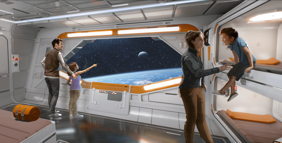 New Images Of Star Wars Theme Hotel At Walt Disney World