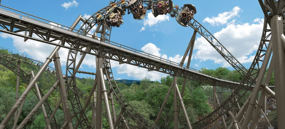 Time Traveler roller coaster to debut March 14 with the season opening of Silver Dollar City