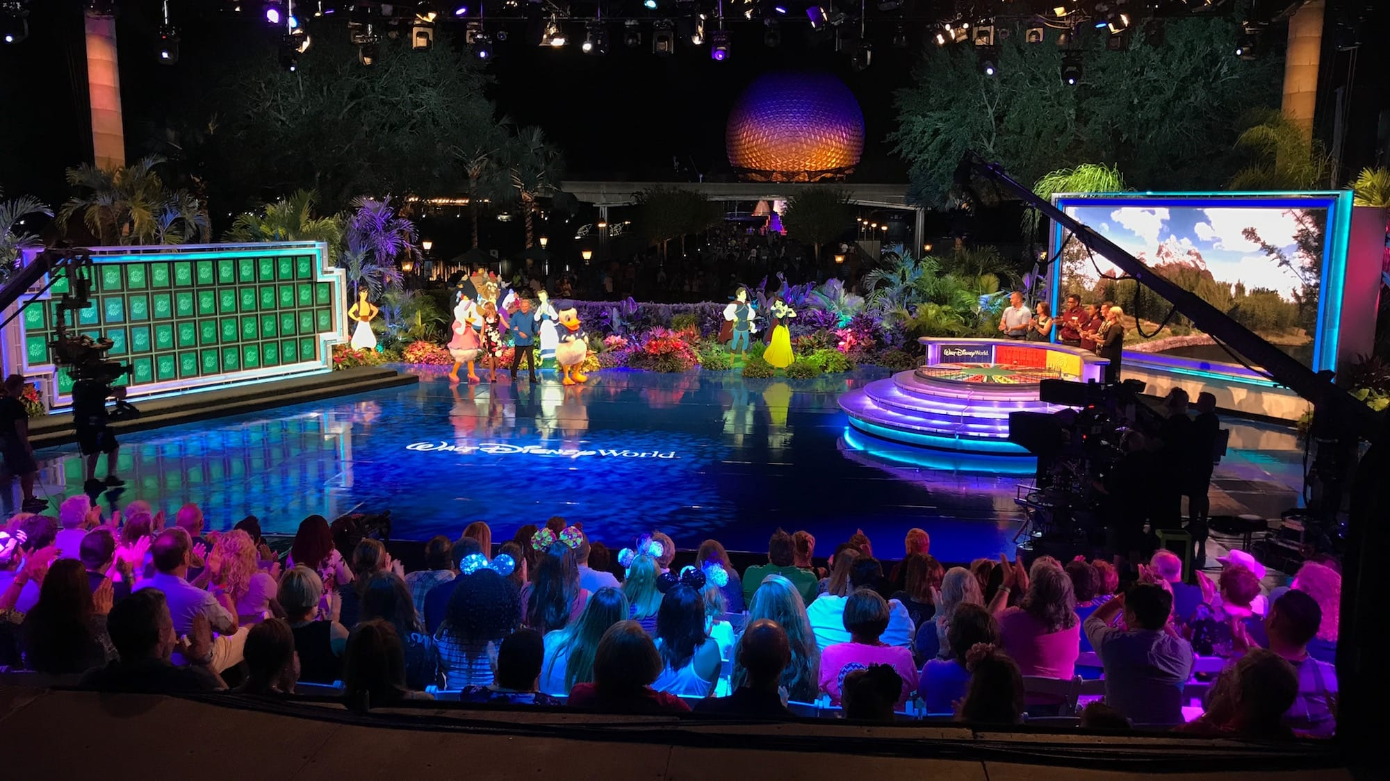 Wheel Of Fortune Episodes Taped At Epcot Airing This Week