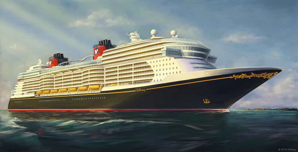 Get A First Look At Disney Cruise Lines Next Three Ships - Animated cruise ship