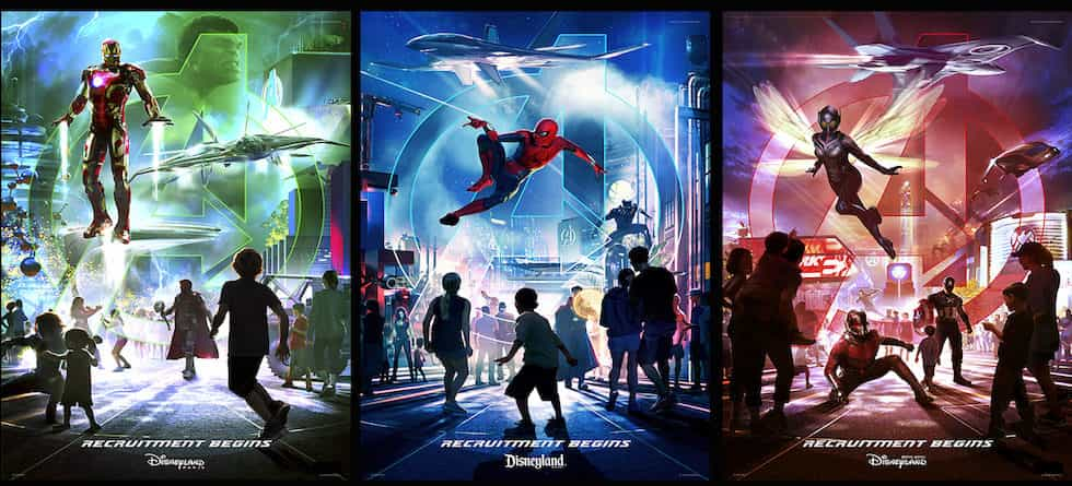 Marvel Super Heroes to assemble at Disneyland Resort, Disneyland Paris, Hong Kong Disneyland