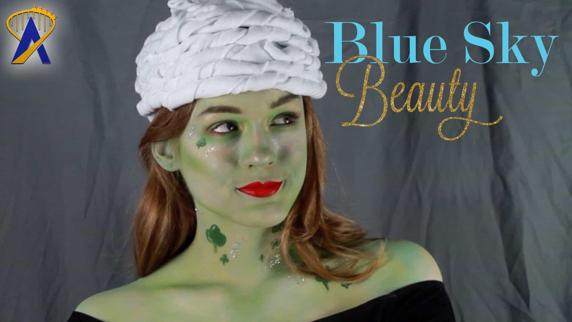 Blue Sky Beauty - Pretty for St. Patrick's Day (Shamrock ...