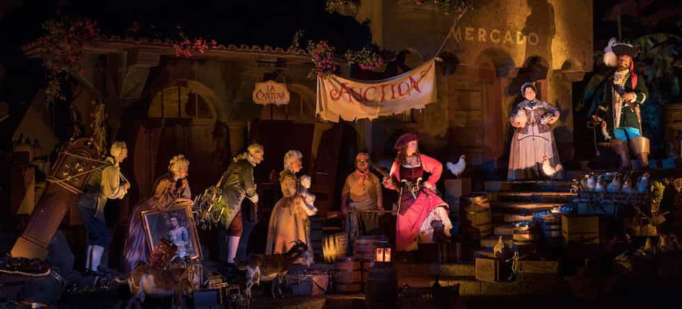 VIDEO: Pirates of the Caribbean reopens at Walt Disney World with new auction scene