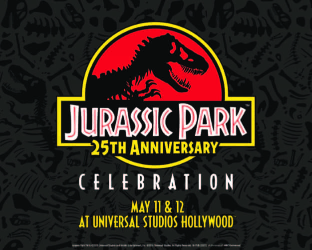 Jurassic Park 25th anniversary celebration