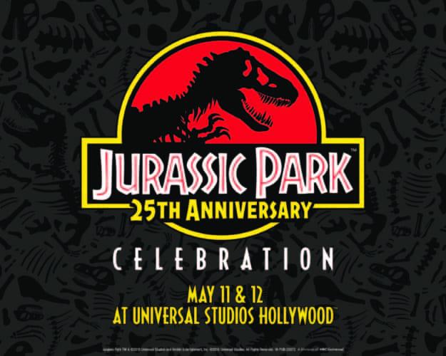 Jurassic Park 25th anniversary celebration