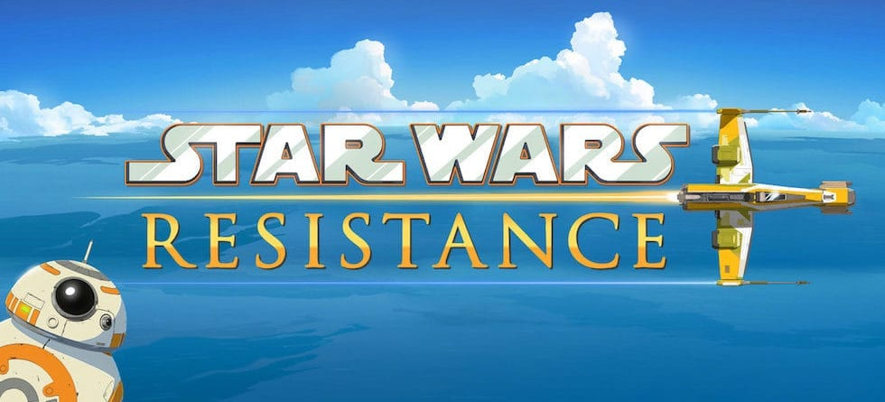 New 'Star Wars' animated series, 'Star Wars Resistance,' set to debut this fall