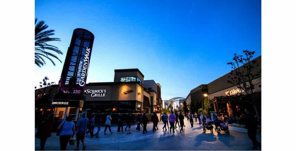Garden Walk Mall Anaheim: Anaheim GardenWalk Announces New AMC Theatres Coming In 2019