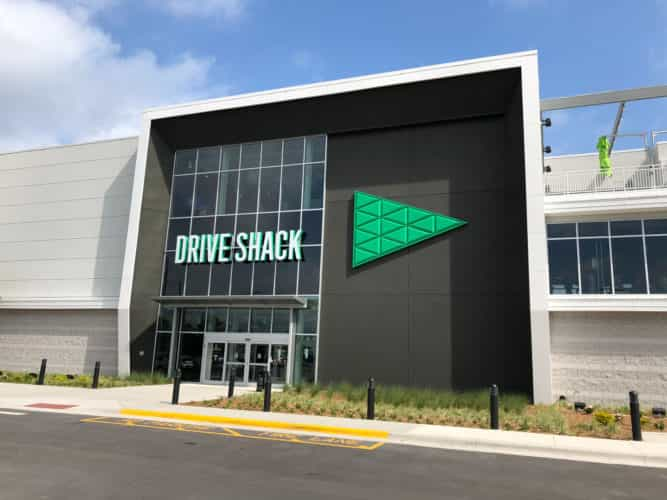 Drive Shack New Golf Entertainment Complex And Driving