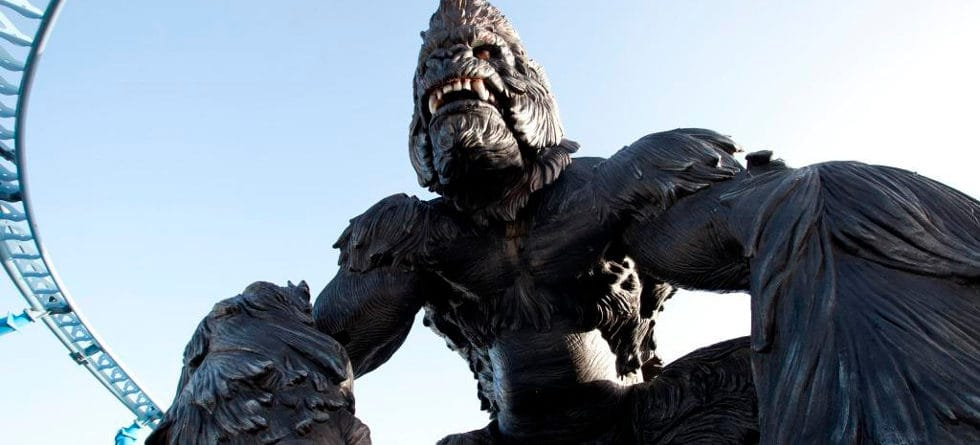 King Kong spinning coaster in Tunisia features 'world's tallest animatronic'