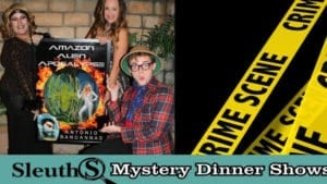 Sleuths Mystery Dinner Shows hosts Rockin' Mystery musical series