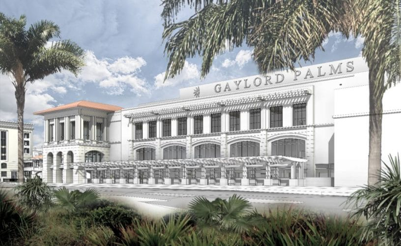 Gaylord Palms Resort expansion
