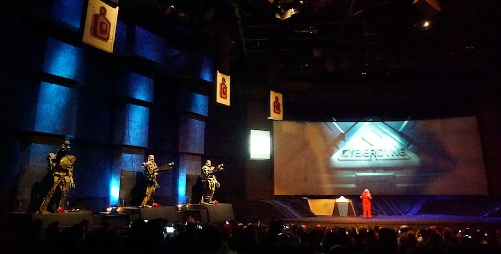 The t23D show at Universal orlando