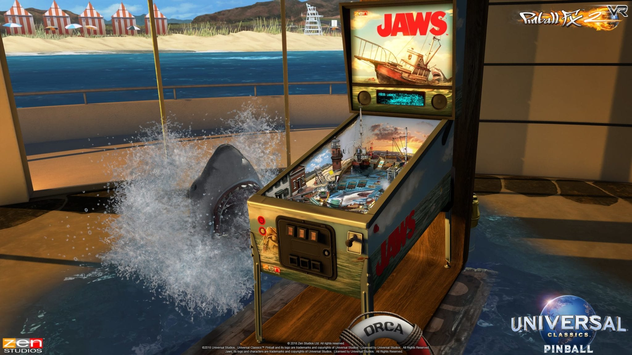 Universal Classics Pinball brings E T , Jaws, and Back to the Future