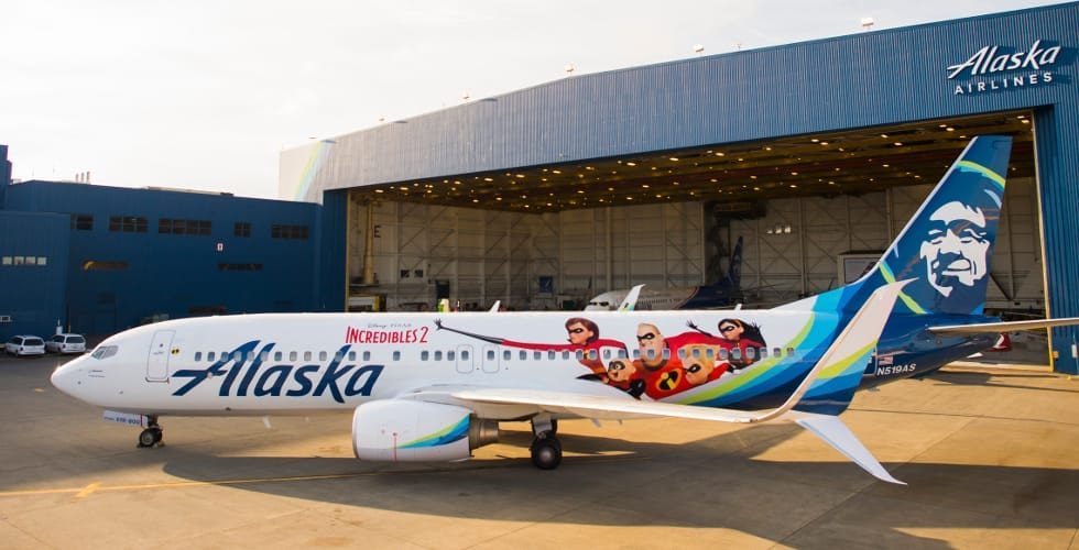 Alaska Airlines Incredibles