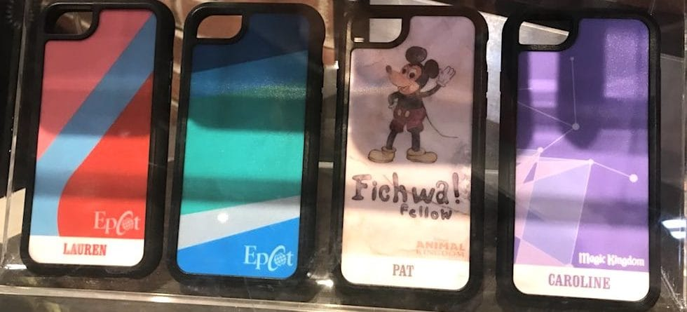 Show your love for your favorite Disney Parks Wall with new phone cases from D-Tech
