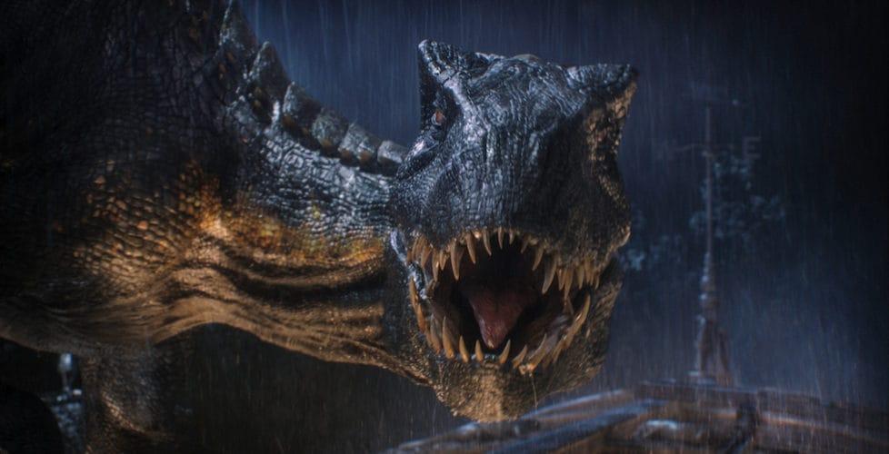 An Indoraptor from Jurassic Park