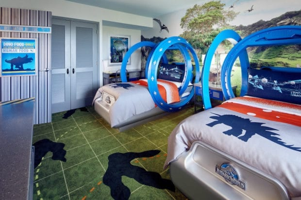 New Jurassic World Kids Suites At Loews Royal Pacific