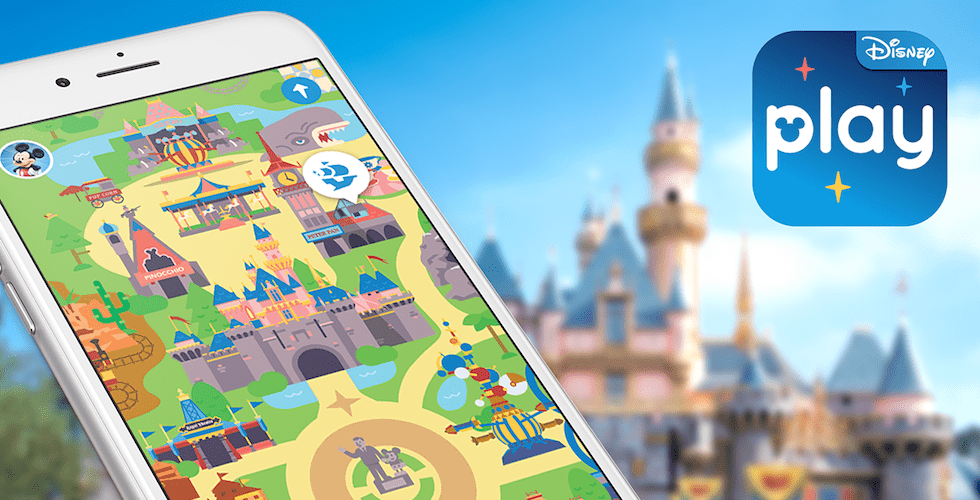 play disney parks mobile app debuts at disneyland resort and walt disney world resort. Black Bedroom Furniture Sets. Home Design Ideas