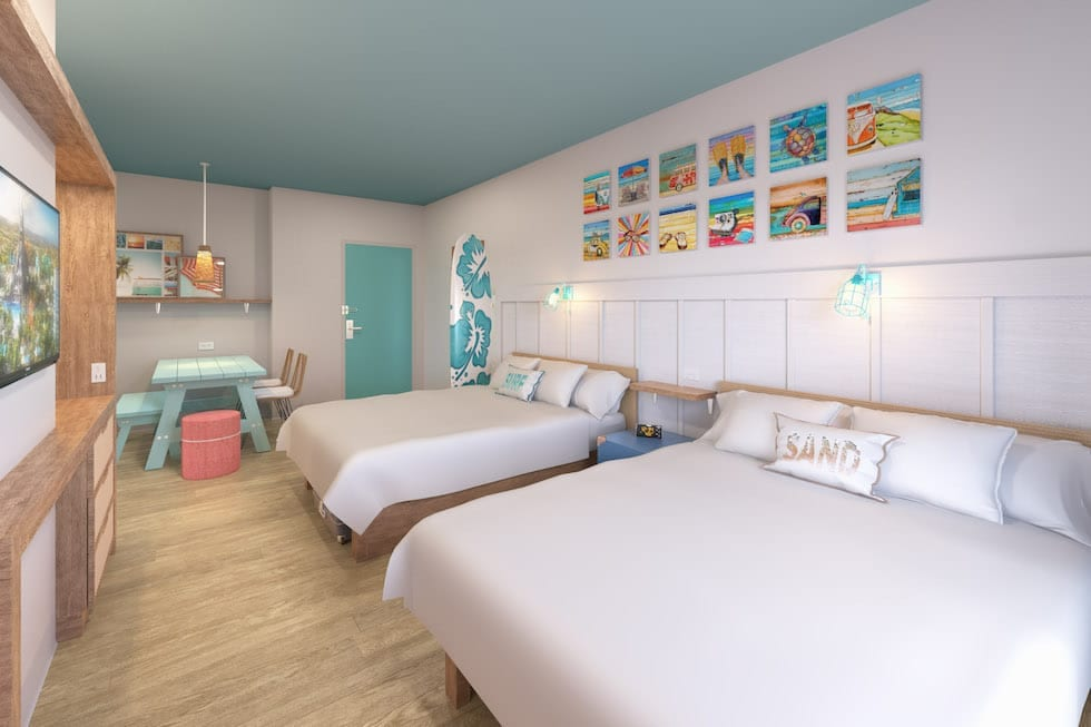 Reservations now available for universal orlando 39 s endless summer resort for 2 bedroom suites orlando near universal studios