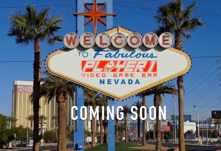 Player 1 Video Game Bar Vegas