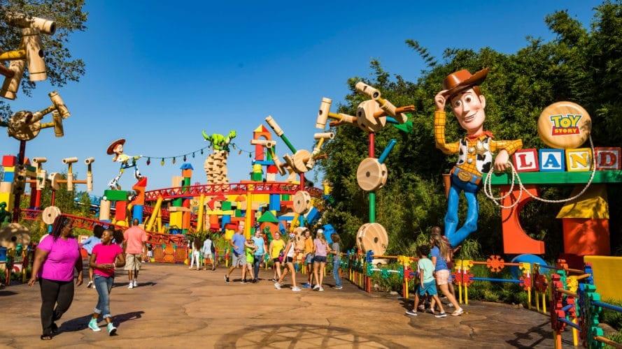 Toy Story Land soft open