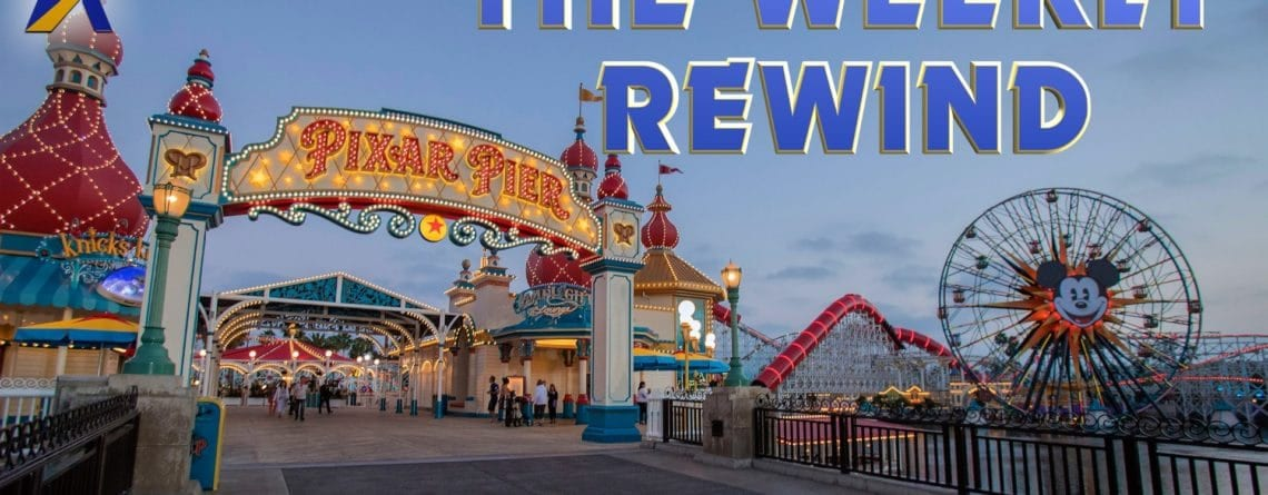 The Weekly Rewind – Pixar Pier, Infinity Falls construction and more