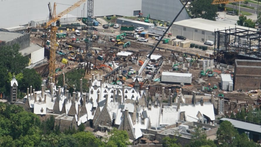 Peering Over Hogsmeade