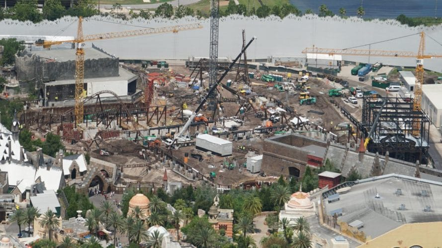Overview of Harry Potter construction