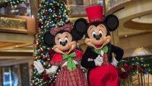 Celebrate a magical holiday season aboard Disney Cruise Line