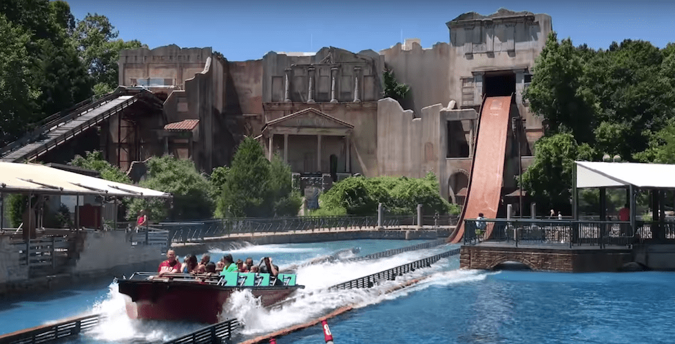 Fire Closes Escape From Pompeii Ride At Busch Gardens Williamsburg