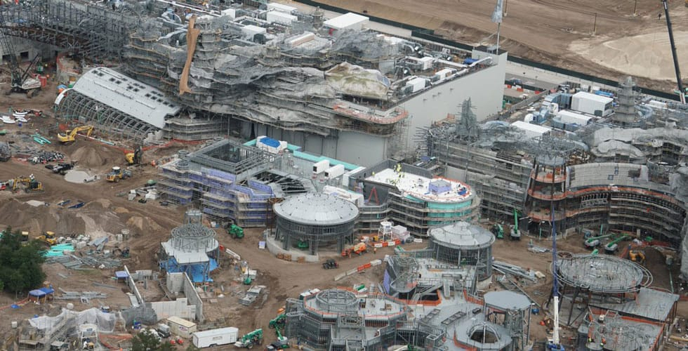 Photo Update: Star Wars Galaxy's Edge construction ...