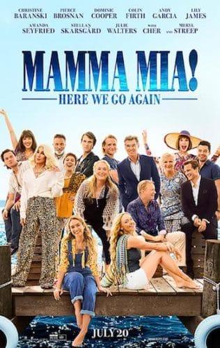 Mamma mia 2 movie poster