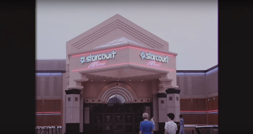Orange Park Mall >> New 'Stranger Things' season 3 ad gives look at new mall coming to Hawkins, featuring everyone's ...