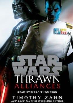 Thrown alliances book cover