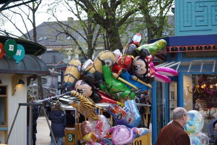 disney ballons at tivoli