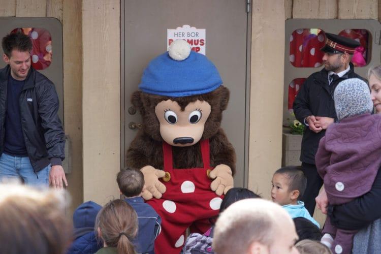 Rasmus Klump character at tivoli