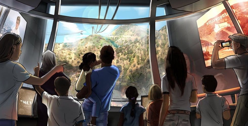 Warner Bros  plans to build tramway between Burbank Lot and