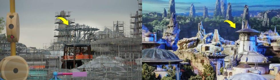 Comparison of construction versus model.