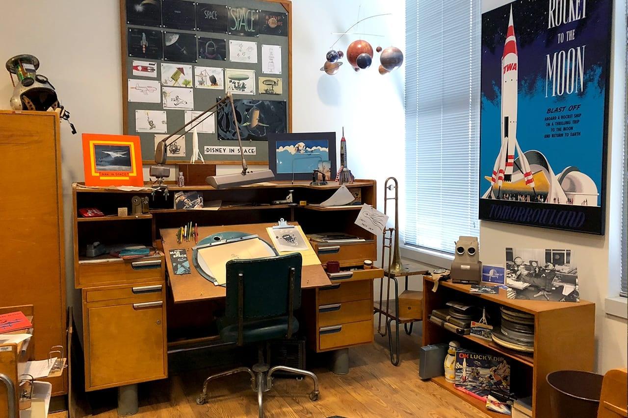 Photo tour of Walt Disney Studios and Walt's office