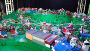 Legoland New York reveals massive Lego model of park's eight themed lands