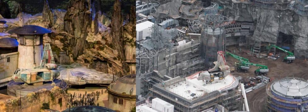 Comparison of Falcon Model and construction