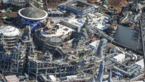 Photo Update: Star Wars: Galaxy's Edge is covered in construction!