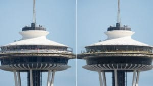 Seattle's Space Needle renovated to feature world's first, only revolving glass floor