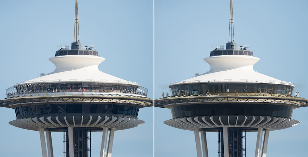 Seattle S Space Needle Renovated To Feature World S First
