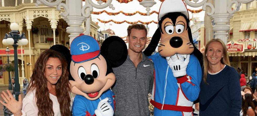 Celebs join over 25,000 runners for Disneyland Paris Magic Run Weekend