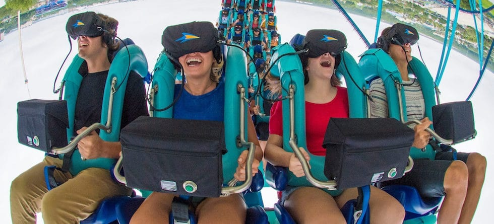 SeaWorld Orlando removes VR from Kraken roller coaster