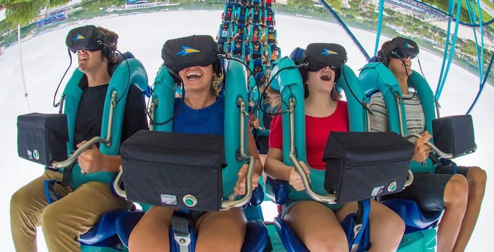 SeaWorld Orlando removes VR from Kraken roller coaster