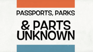 WWE wrestler hopes you'll watch as he visits the 'Parks and Parts Unknown'